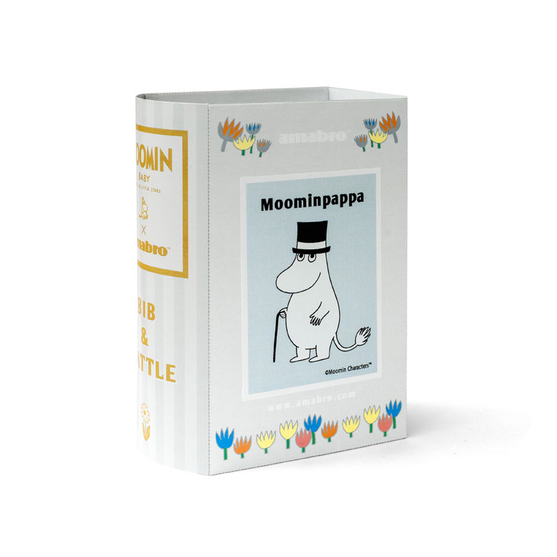 MOOMIN BABY BIB&RATTLE / Moomin Pappa