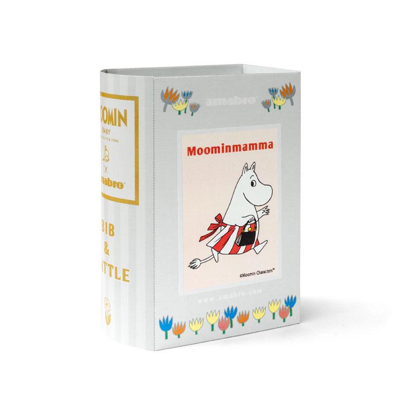 MOOMIN BABY BIB&RATTLE / Moomin Mamma