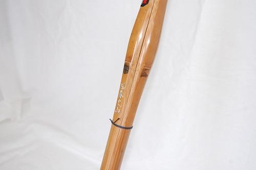 特製炭化胴張実戦型竹刀 3.8尺 風林火山(ふうりんかざん)