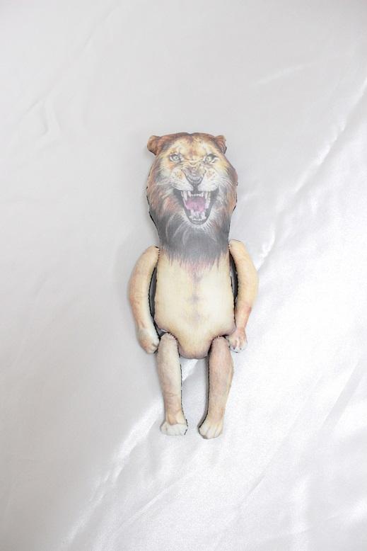 ●30%OFF 手書きdoll WILD?Bear/WILD?Tiger/WILD?Lion