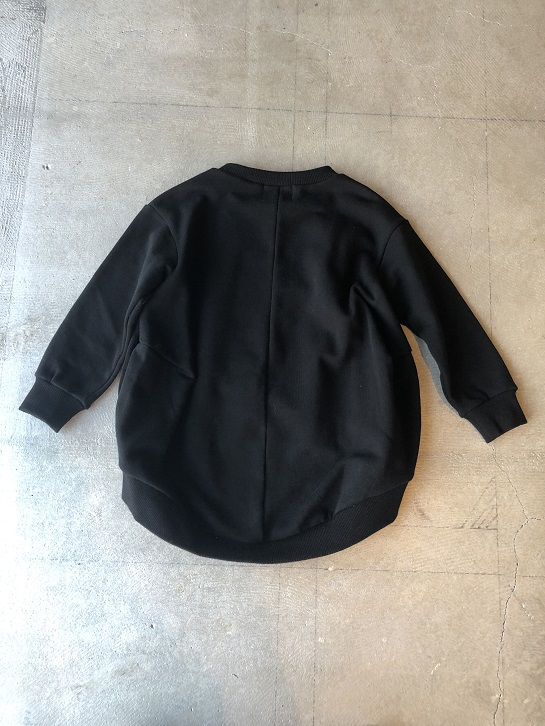 ●30%OFF HELLO NEW WORLD コクーントレーナー /Black 19AW