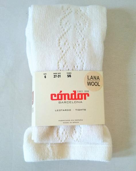 Wool openwork tights ウールオープンワークタイツ1527/1