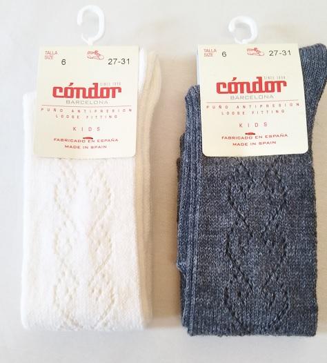 Wool openwork knee-hight socks ウールオープンワークニーハイソックス1527
