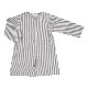 ●50%OFF Elvira dress/grey stripe 18AW Pierrot la Lune