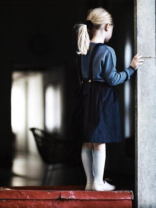 ●50%OFF Bianca skirt/dark blue 18AW Pierrot la Lune