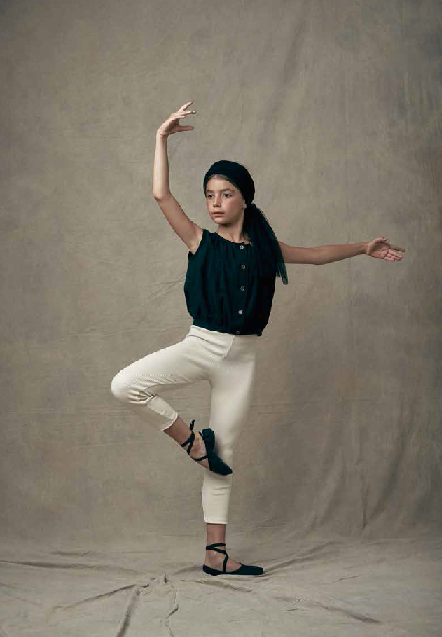 ●70%OFF Little creative factory 18SS Ballet Top/black