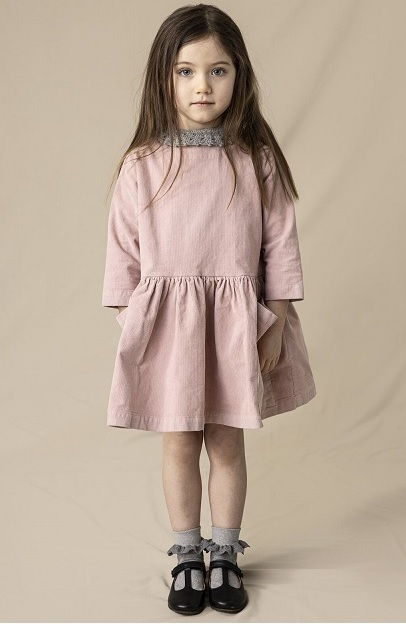 ●30%OFF POCKET DRESS 20AW/ Pink