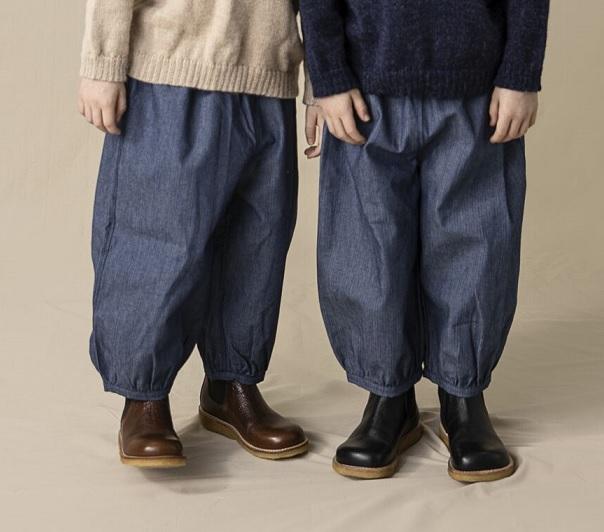 ●30%OFF Bubble pants 20AW/ pin st denim