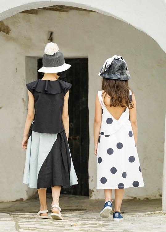 ●60%OFF VEJER HAT 19SS/ Black straw/Polka dots black tie