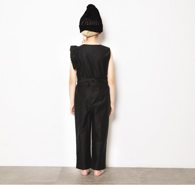 hondsome coverall/black 21SS
