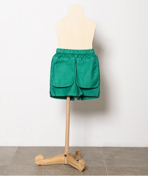 pocket short pants /black 21SS