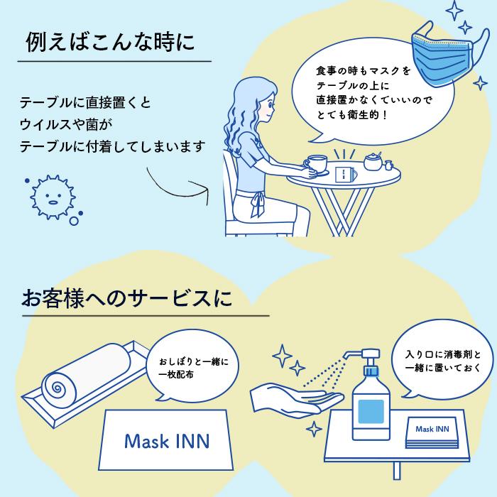 使い捨てマスクケース マスクINN(2,000枚入り)