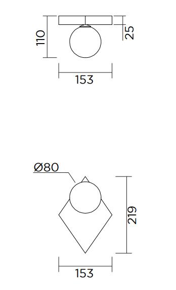 ARETI/PERSPECTIVE VARIATION 01ウォールライト