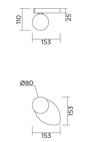 ARETI/PERSPECTIVE VARIATION 02ウォールライト
