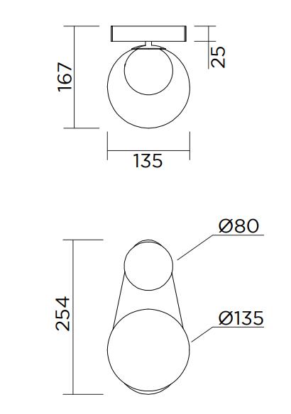 ARETI/PERSPECTIVE VARIATION 04ウォールライト