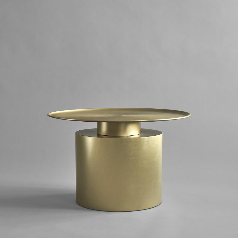 101 COPENHAGEN/Pillar Brass Lowサイドテーブル