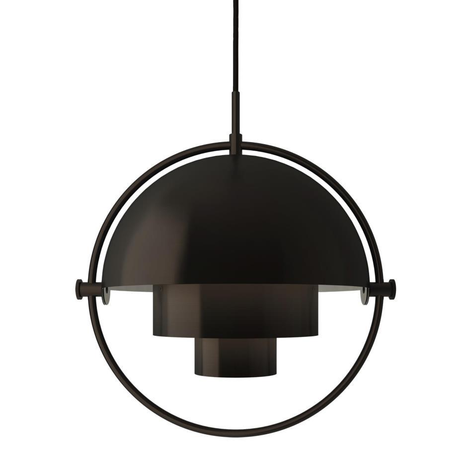 GUBI/Multi-Lite All Blackペンダントライト