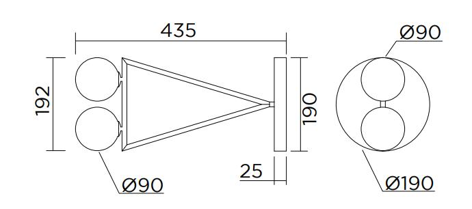 ARETI/Dreiecksrotationウォールライト