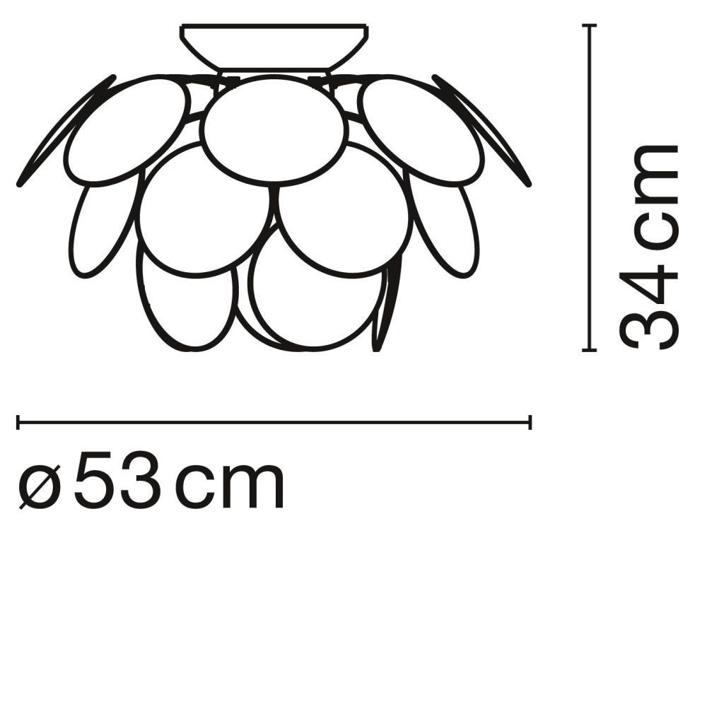 Marset/マルセット/DISCOCO C53シーリングライト