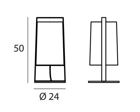 TOOY/MACAO 551.32テーブルランプ