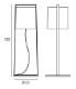 TOOY/MACAO 551.64フロアランプ
