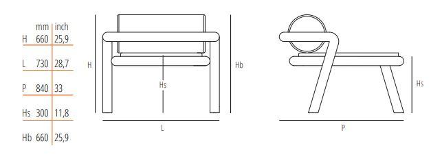 Gebruder Thonet Vienna GmbH/トーネット/Hold Onアームチェア