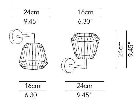 modoluce/モドル—チェ/Lotoブラケットライト