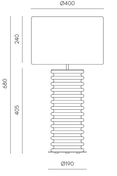 AROMAS/アロマス/TAROテーブルライト