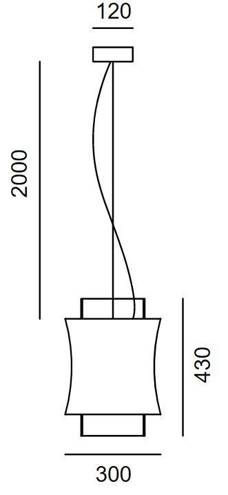 Prandina/Fez S3ペンダントライト