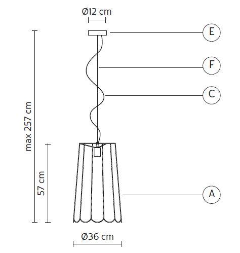 Karman/カーマン/Lucilla SE650VNペンダントライト