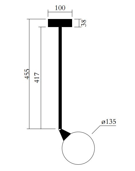 ARETI/Periscopeシーリングライト