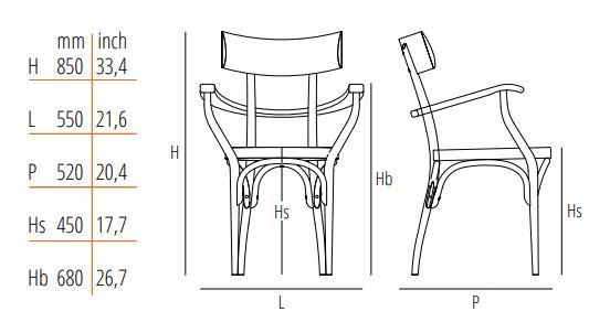Gebruder Thonet Vienna GmbH/トーネット/Czechアームチェア