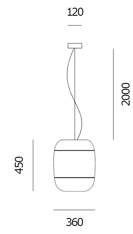 Prandina/GONG S5ペンダントライト