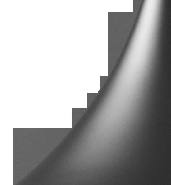 GUBI/Semiサスペンションライト‐ブラック