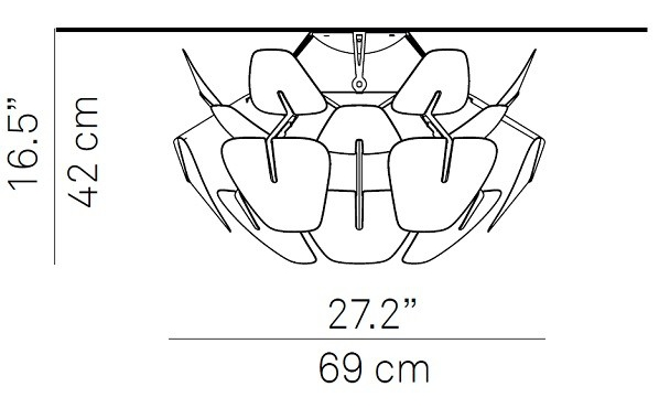 Luceplan/ルーチェプランホープシーリングライト