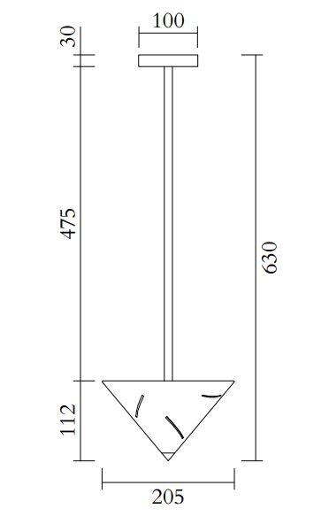 ARETI/Sliverシーリングライト