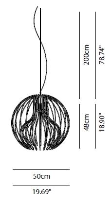 modoluce/モドル—チェ/Icaro Ballペンダントライト