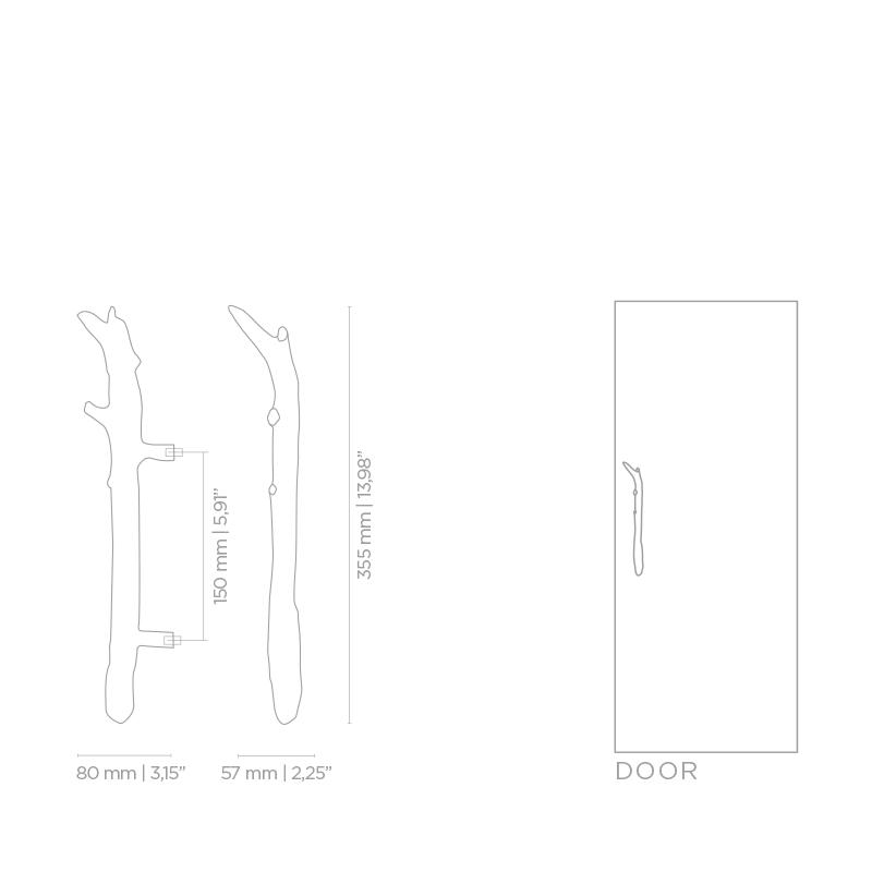 Pullcast/プルキャスト/TWIG EA1044ハンドルセット