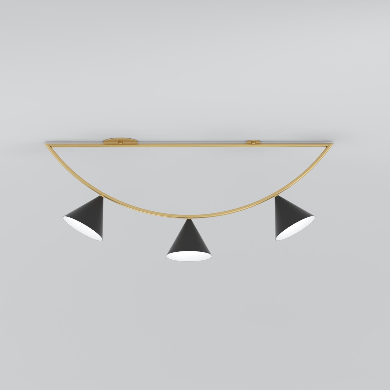 ARETI/Girlande 3 conesシーリングライト