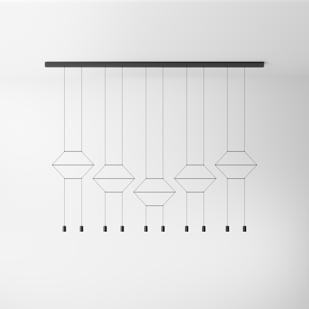 Vibia/Wireflow lineal0332ペンダントライト