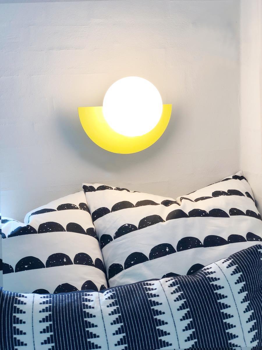 SWEDISH NINJA/C.LAMP SUNSHINE YELLOWウォールライト