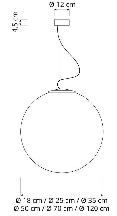 In-es artdesign/LUNAペンダントライト