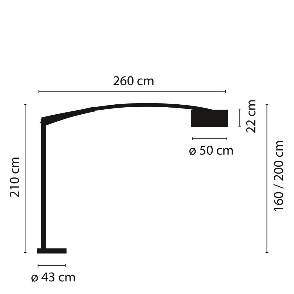 Vibia/BALANCE 5189フロアライト