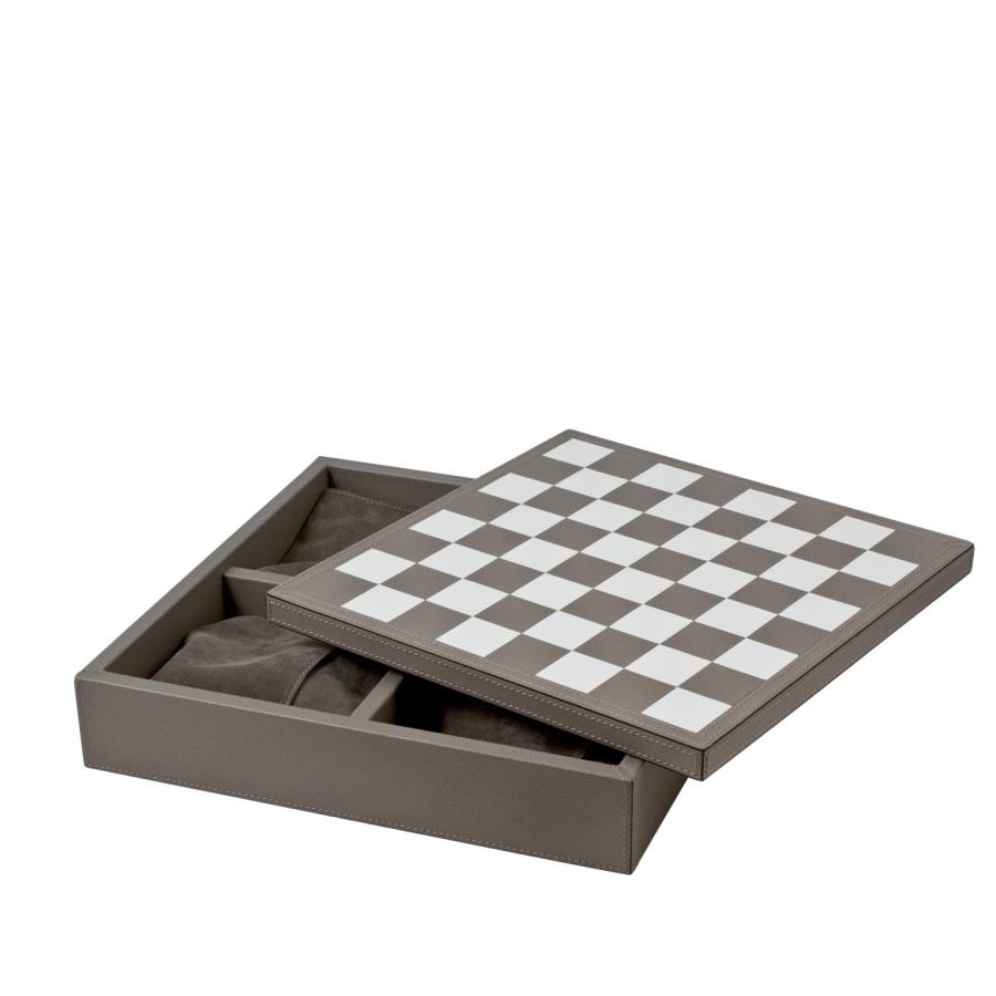 GIOBAGNARA/TRIPLE GAME BOXチェス/ドラフツ/ドミノセット