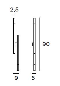 GIBAS/Zen 105/42ウォールライト
