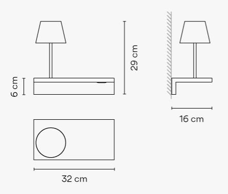 Vibia/SUITE6045ウォールライト