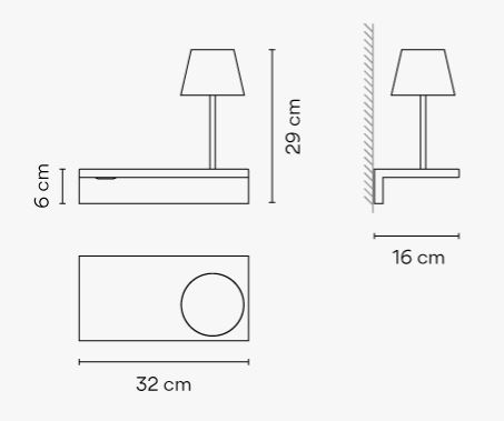 Vibia/SUITE6046ウォールライト