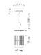 Vibia/RHYTHM Horizontal 2110ペンダントライト