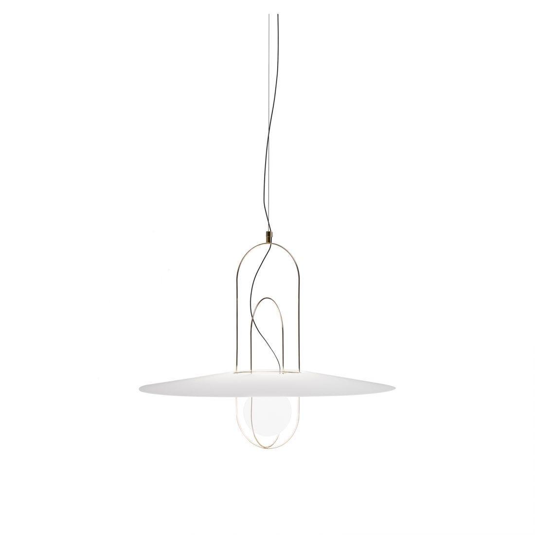 Fontana Arte/フォンタナアルテ/SETAREH GLASS MEDIUMペンダントライト