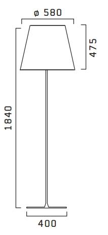 Flos/フロス/KTribe F3 Outdoorフロアライト
